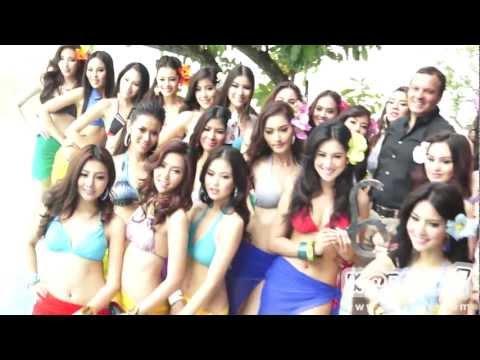Miss Grand Thailand 2013 ส่องสาวงาม แฟชั่นโชว์ชุดว่ายน้ำ