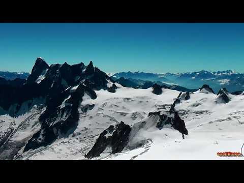 Aiguille du Midi - Mont Blanc - Chamonix, France part1 - Travel video HD