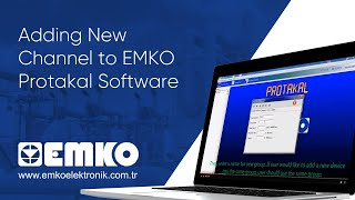 Emko Elektronik Adding New Channel to EMKO Protakal Software