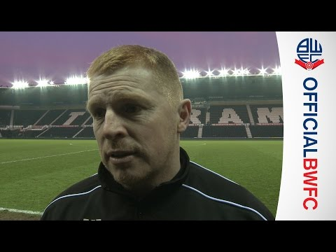 NEIL LENNON | Manager's post-Derby reaction