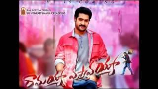 Ramayya Vasthavayya (2013): Telugu MP3 All Songs Free Direct Download 128 Kbps & 320 Kbps
