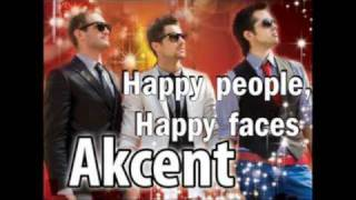 akcent happy people happy faces (NEW Single 2009 Offcial Radio Version)