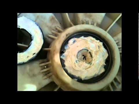 Repairing washing machine front loader - Replacing shaft ball bearings