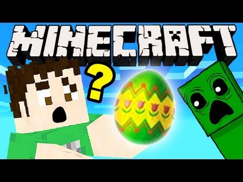 Minecraft - SECRET EASTER EGG