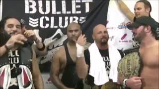 bullet club putting WWE on notice
