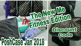 Posh Case January 2018 | Discount Code |  The New Me Fitness Edition | Unboxing & Review