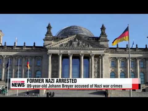 89-year-old ex-Nazi arrested for past war crimes
