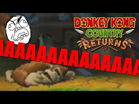 КРИКИ, ВОПЛИ, СЛЁЗЫ И ПСИХОПАТИЯ - Donkey Kong Country Returns