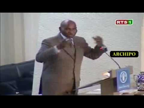 Discours Abdoulaye Wade au Sommet de Rome