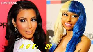 Kim Kardashian vs Nicki Minaj 2019  From 1 To 36 Years Old