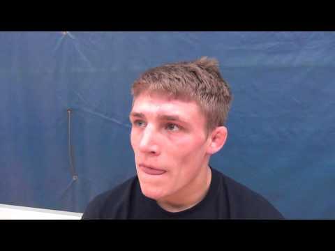 Brock Zacherl after competing in 60 kg UWW Jr World Team Wrestle-off