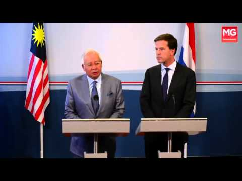 MH17 - Kekuatan Datuk Seri Najib Tun Razak Tangani Tragedi MH17