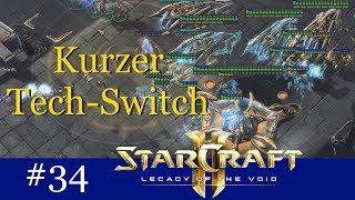 Kleiner Tech-Switch - Starcraft 2 Challenge: In X Folgen in die Masterleauge #34 [Deutsch | German]