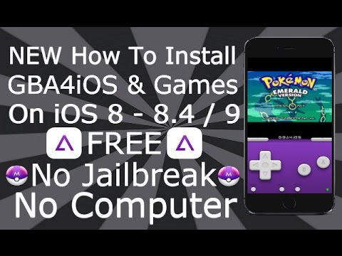 How To Install GBA4iOS Emulator & Games On iOS 8 - 8.3 / 8.4 NO Jailbreak NO Computer