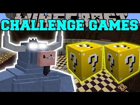 Minecraft: IRON WILL CHALLENGE GAMES - Lucky Block Mod - Modded Mini-Game