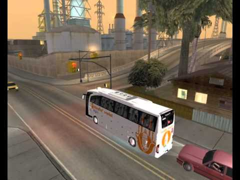 Gta:Sa || Mercedes-Benz Travego 15 SHD || İstanbul Seyahat