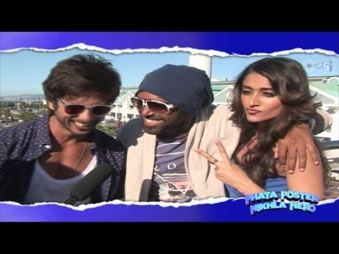 Phata Poster Nikhla Hero Fun Moments - Behind The Scene video