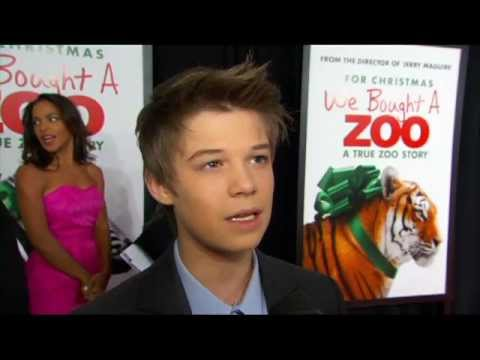 Colin Ford Interview Snippet at 'We Bought a Zoo' Premiere