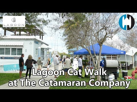 Lagoon Cat Walk at The Catamaran Company