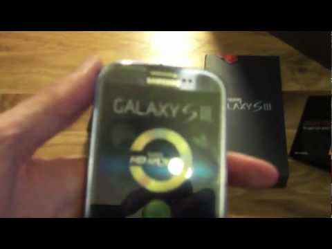 Samsung Galaxy S3 Unboxing