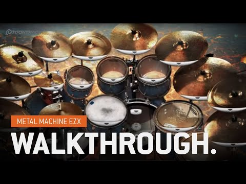 Metal Machine EZX (Expansion for EZdrummer) - Walkthrough