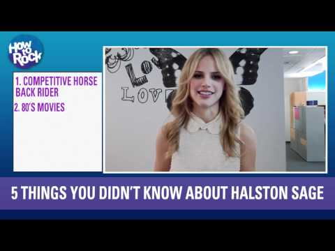5 Things You Didn't Know About Halston Sage