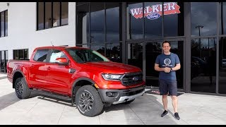Is the 2019 Ford Ranger Lariat FX4 ready for the COMPETITION?