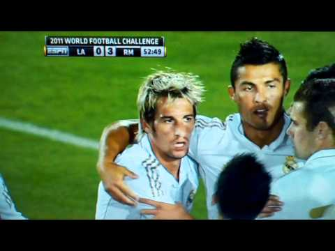Cristiano Ronaldo Goal vs LA Galaxy 07/16/11 HD