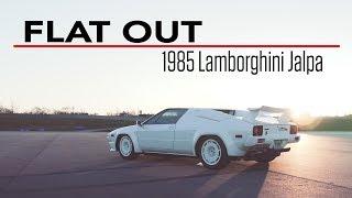 1985 Lamborghini Jalpa unleashed on the track | Flat Out - Ep 2