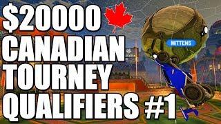 $20000 Canadian Tournament Qualifiers #1 | Semis - Grand Finals (Rocket League Gameplay)
