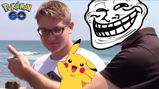 Trolling Pokémon Go Players in Real Life