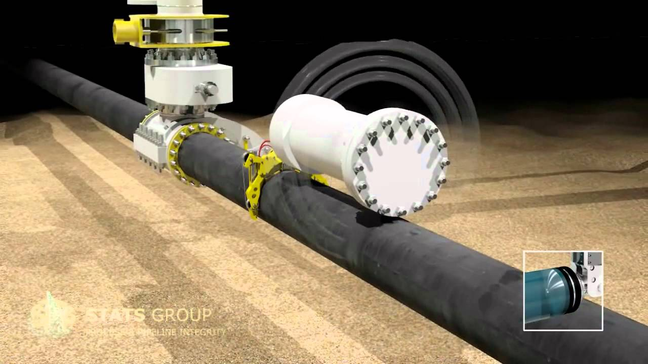 Bisep Subsea Pipe Buckle Line Replacement Youtube