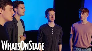 "Dear Evan Hansen in the West End | Four Evans sing ""For Forever"""