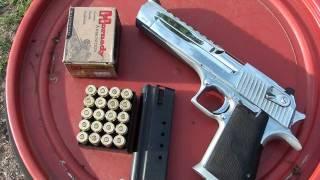 500 mag vs 50 desert eagle two guns one winner