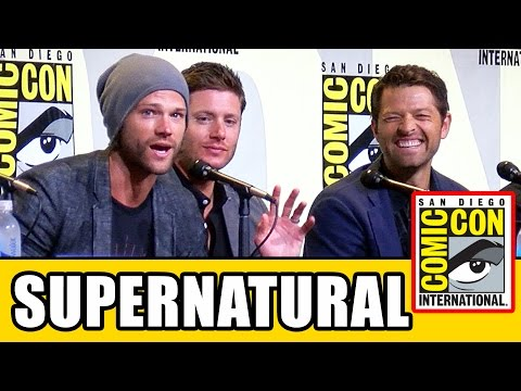 SUPERNATURAL Season 12 Comic Con Panel (Part 1) - Jared Padalecki, Jensen Ackles, Misha Collins thumbnail