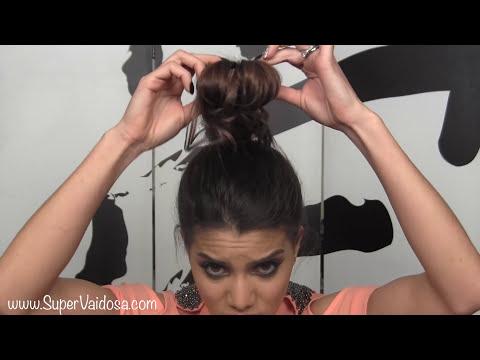 Sock Bun: Penteado Facil e Elegante pro Fim de Ano por Camila Coelho