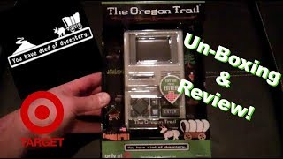 Oregon Trail Handheld game - Target Exclusive - Unboxing & Review