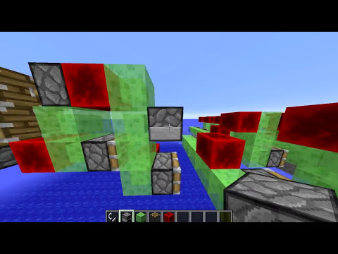 Minecraft Slime Block - Ocean Cleaner