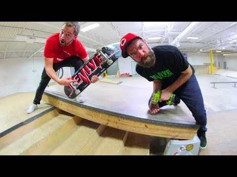 Make A New Skatepark Obstacle! / Warehouse Wednesday!