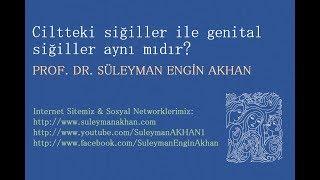 Ciltteki siğiller ile genital siğiller aynı mıdır? - Prof. Dr. Süleyman Engin Akhan