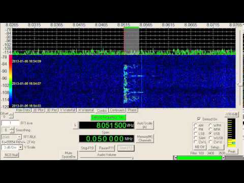 Oddities Station, unk, Homer Simpson voice, 8051.5 kHz, USB, January 06, 2013, 1653 UTC