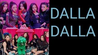 있지(ITZY) DALLA DALLA 뮤직뱅크,엠카 무대 비교 영상