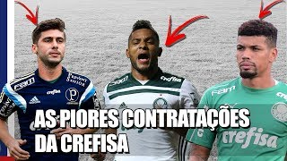 Não só Borja! Relembre as PIORES contratações do Palmeiras na era Crefisa!