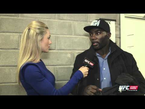 Fight Night Stockholm: Anthony Johnson Backstage Interview