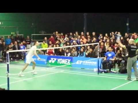 Peter gade trick shot -exhibition match 2013