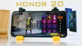 Honor 20 PUBG Fortnite Asphalt 9 Gaming Test