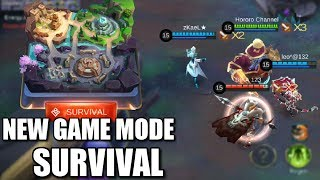 NEW GAME MODE SURVIVAL JUST LIKE BATTLE ROYALE
