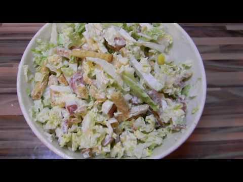 Салат с пекинской капустой/ ОЧЕНЬ вкусный салат/ Салат на Пасху