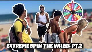 EXTREME SPIN THE WHEEL PT.2 | PUBLIC INTERVIEW