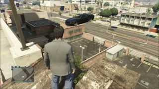 GTA V Online Glitch car floating in air (Bug)